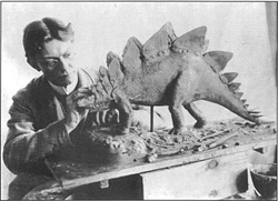 Charles R Kight was one of the first Dinosaur Artists.